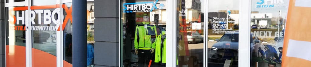 Contact Shirtbox, entreprise au Luxembourg